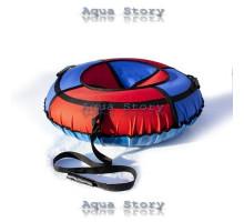 Санки надувные Тюбинг 100 см (Красно-синий)