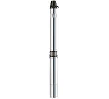 Насосы+ Скважинный насос KGB 100QJD6-60/15-1,5D (муфта, пульт,кабель 10м)