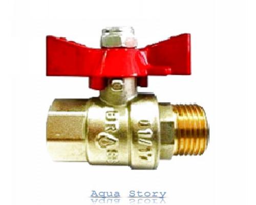 "Кран шаровой Brass 200 1"" ВН (B1001E)"