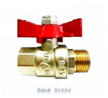 "Кран шаровой Brass 200 1/2"" ВН (B0121E)"