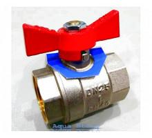 "Кран шаровой Brass 200 1"" ВВ (B1002E)"